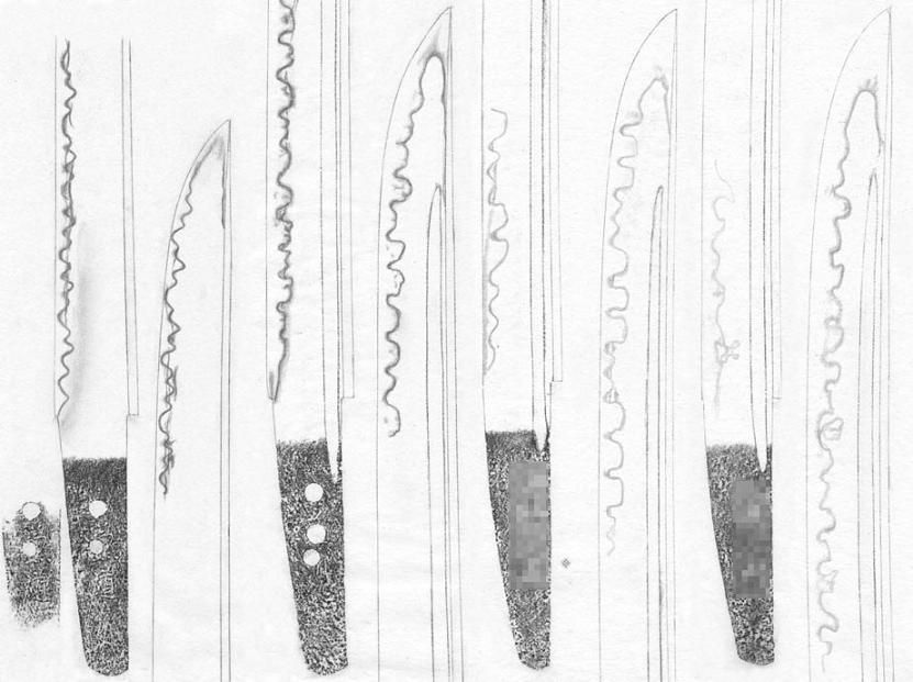 美濃 短刀